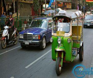 taylanda tuk tuk