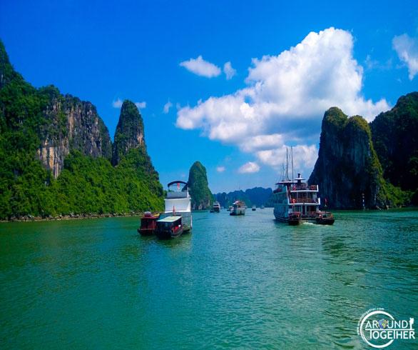 Vietnam halongbay fotoğrafları