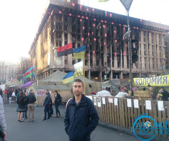 Savaş zamanı Ukrayna'ya gitmek:Kiev