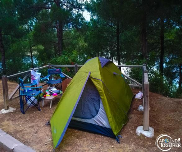 milli parklarda kamp