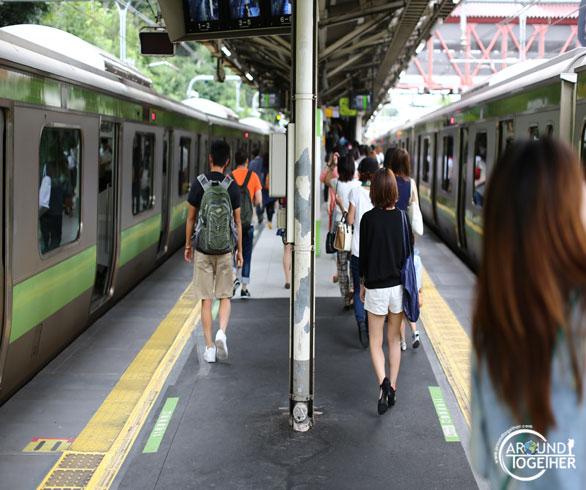 Japonya Tokyo ulaşım