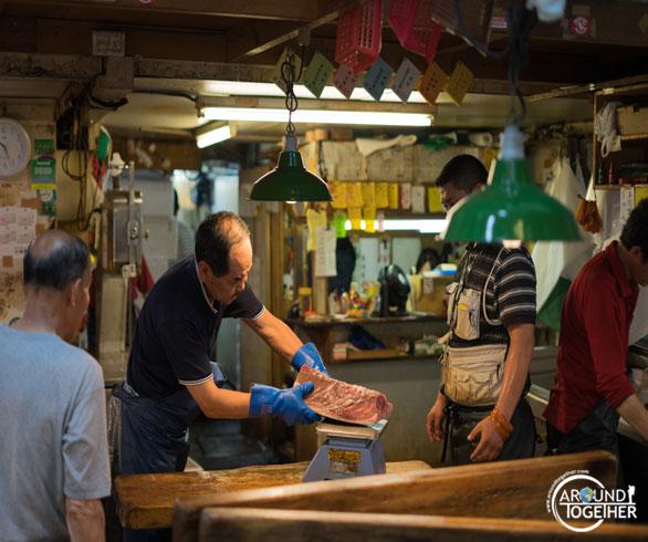 Tsukiji balık pazarı nerede