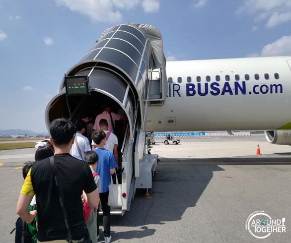 Busan-Tokyo uçağı